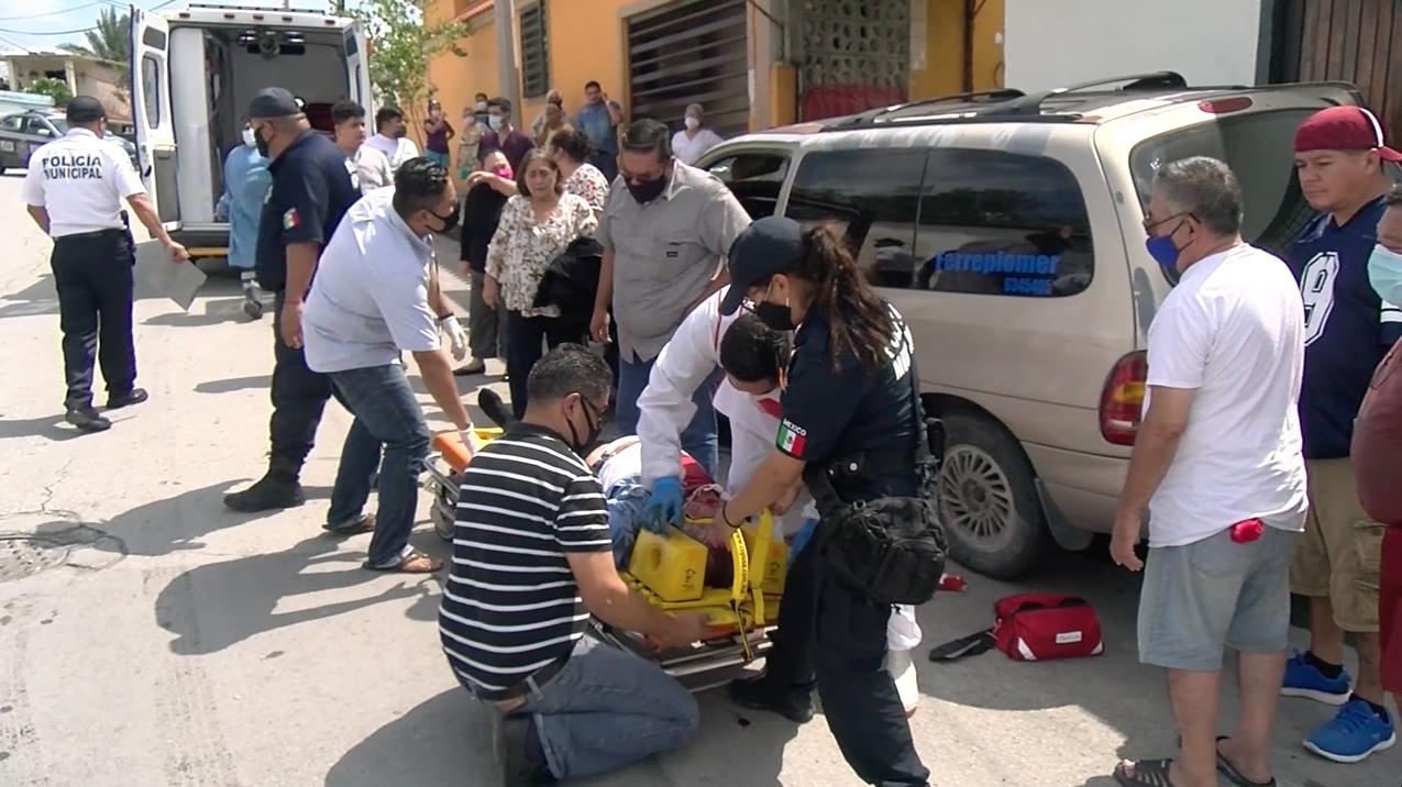 Muere sexagenerio que participo en choque en Fraccionamiento Carranza