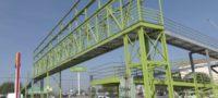 Lista la obra del puente peatonal en la colonia Mirasierra en Saltillo; Manolo Jiménez