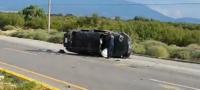 Una mujer murió en fatal volcadura sobre el Libramiento Carlos Salinas de Gortari