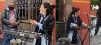 Flor Amargo sale a cantar y autoridades de San Miguel de Allende la mandan a callar