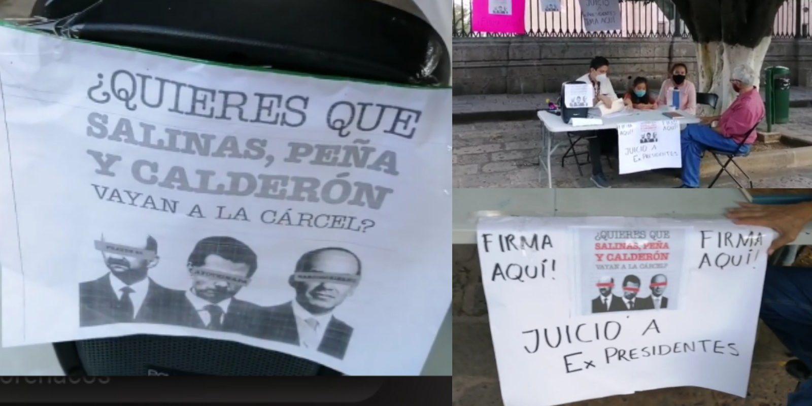 ¡Les faltan 800 mil!: Morena aún no logra reunir las firmas necesarias para aprobar encuesta contra ex presidentes