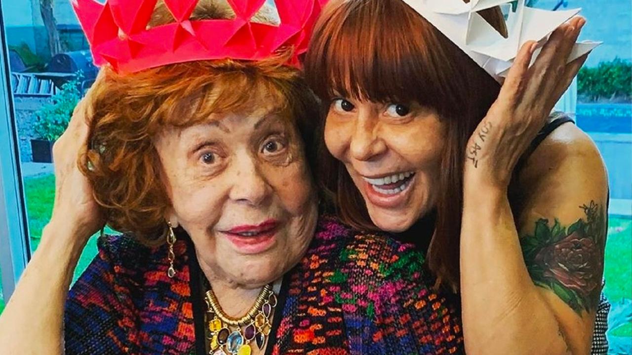 Frida Sofía y Michelle Salas ausentes en el cumple años de Silvia Pinal