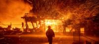 El peor año de California; el infierno que se vive por los 40 incendios activos