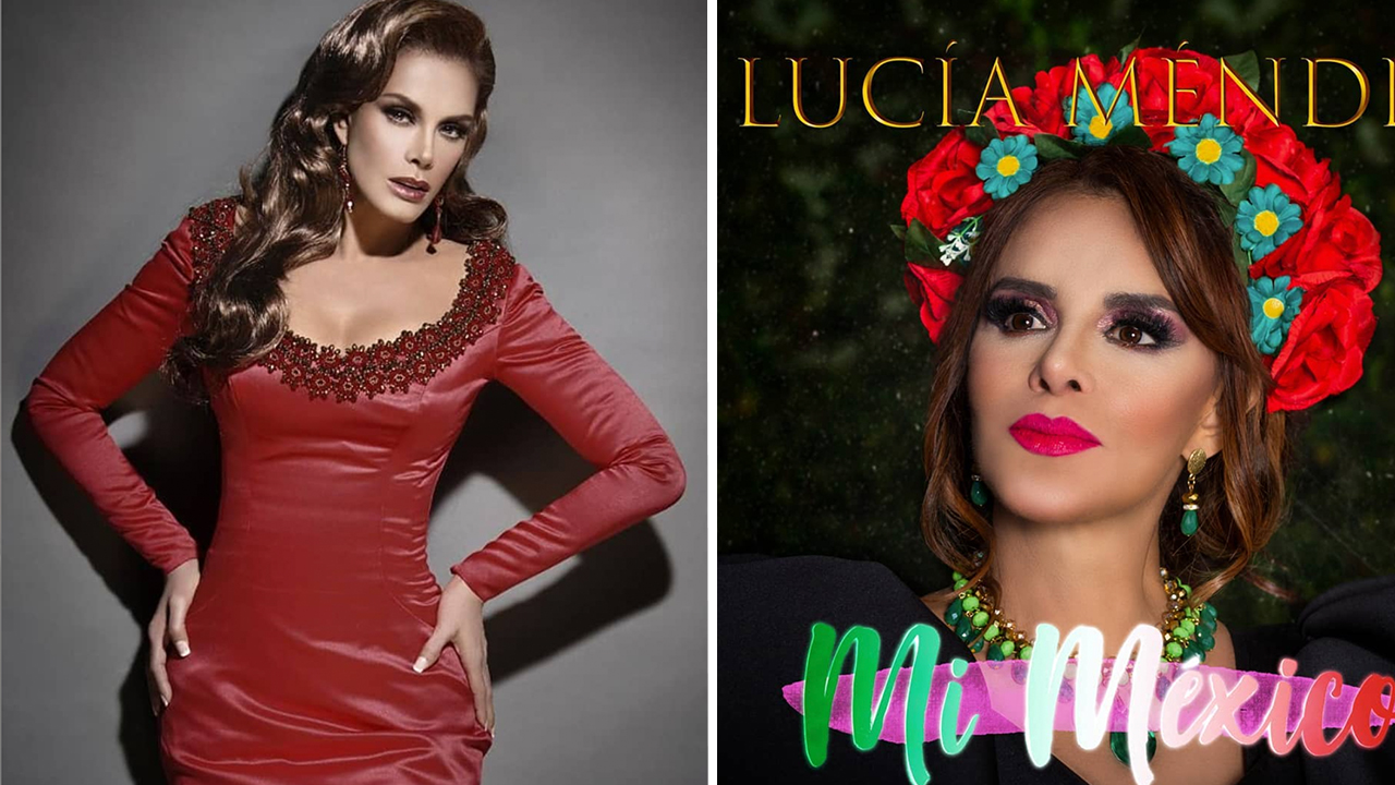 Lucia Méndez estrena nuevo tema musical