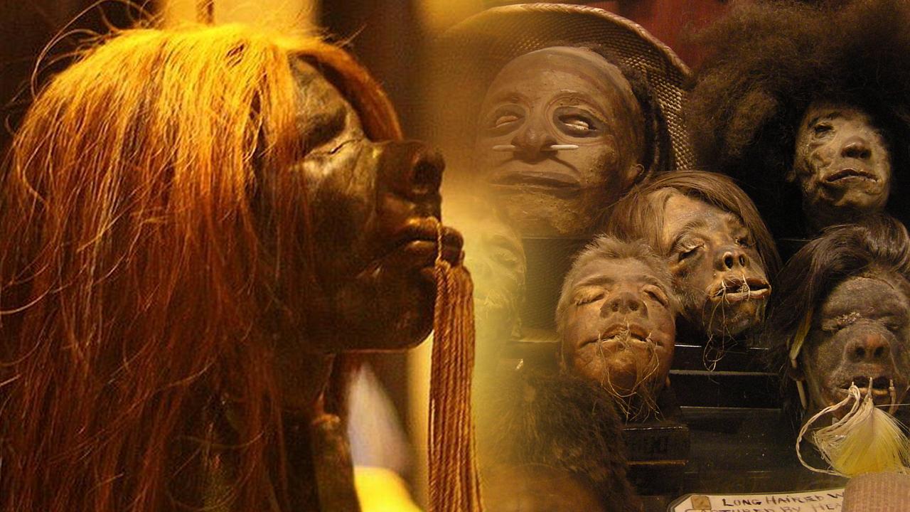 Retiran de museo de Oxford exposición de cabezas reducidas por insitar al racismo