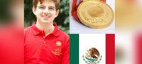 Joven estudiante conquista la presea de oro en Olimpiada Internacional de Matemáticas