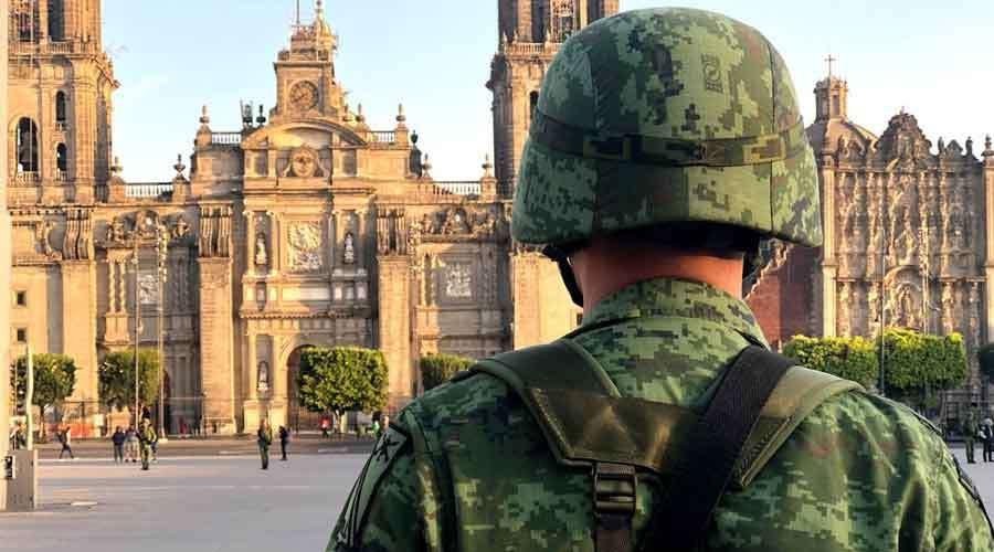 Ejército toma la Catedral de CDMX por festejos patrios; Arquidiócesis acusa falta de comunicación