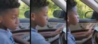 Niño de 11 años de edad salva la vida de su abuelita al llevarla en auto al hospital