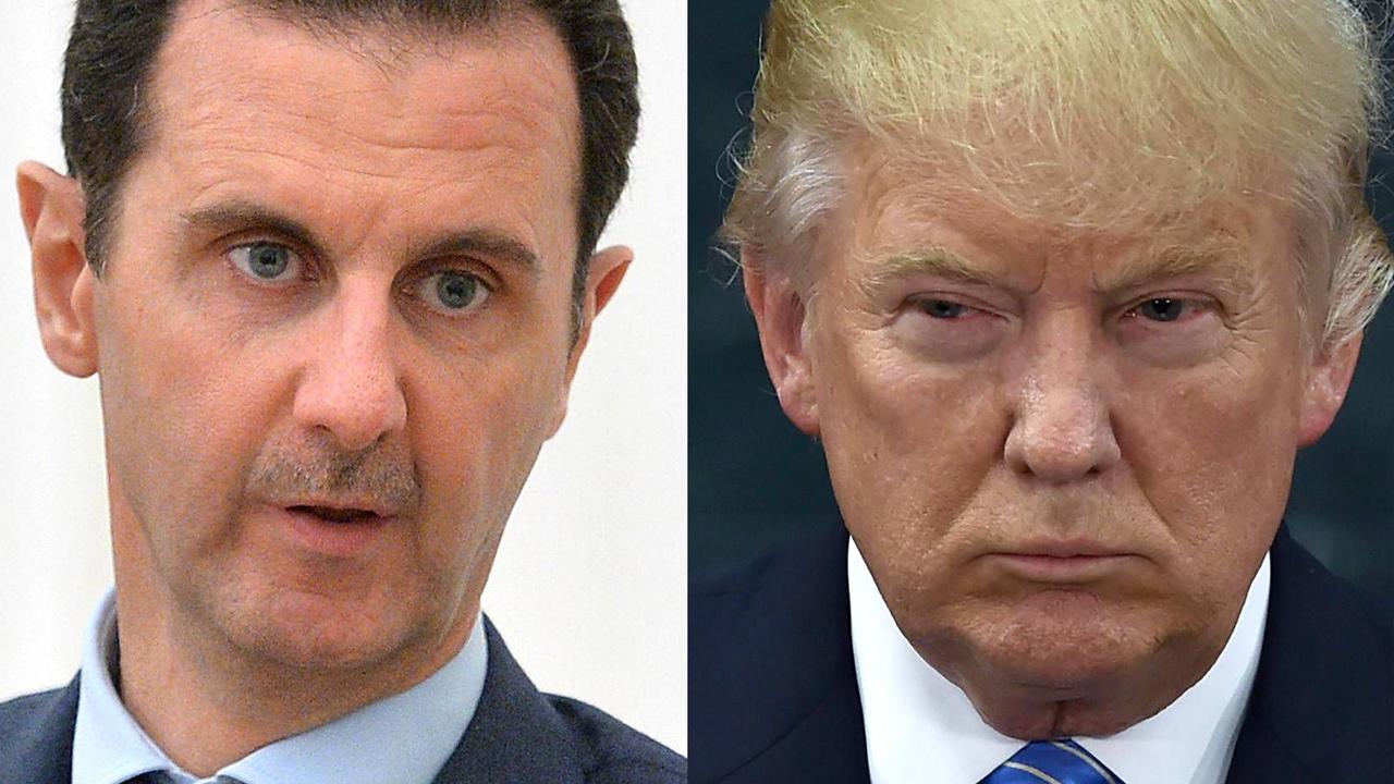 Confiesa Trump que planeaba deshacerse del presidente sirio Bashard al Assad
