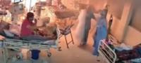 Explota ventilador artificial en India; pacientes con covid huyen tras incendio