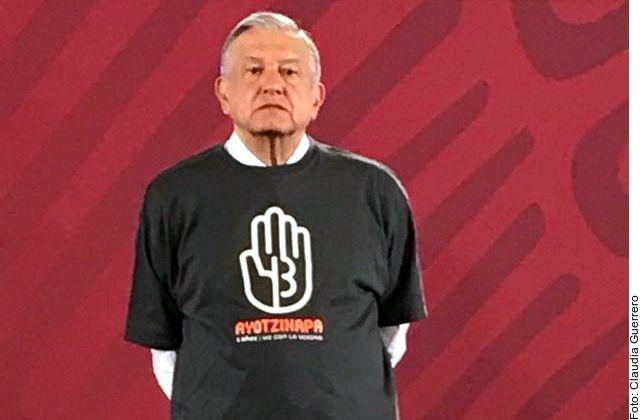 El 26 de septiembre dará AMLO informe de Ayotzinapa; ya están detenidos quienes hicieron la Verdad Histórica