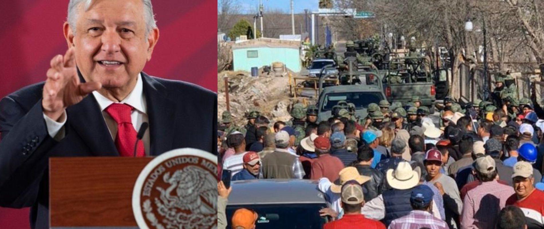Demandará AMLO a campesinos de Chihuahua por daños a presa La Boquilla,