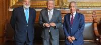 'No todo el que tiene es malo'; AMLO tras reunión privada con Carlos Slim y Miguel Rincón