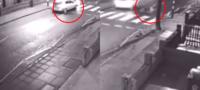 Mujer atropella brutalmente a un abuelito, quien resulta ser su suegro