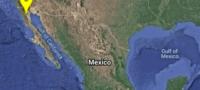 Se registra fuerte sismo de 5,2 grados de magnitud en Baja California