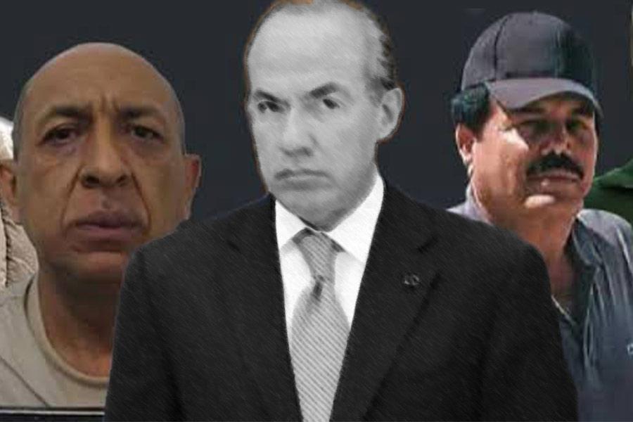 Guerra contra en narco no se puede ganar, lo mejor es legalizar la droga: Calderón