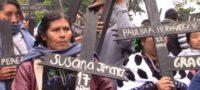 """""""Exigimos que se lleve a juicio a Ernesto Zedillo"""": familiares y sobrevivientes de la matanza de Acteal, Chiapas"""