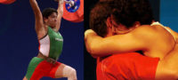 """Soraya Jiménez, la primera deportista mexicana que se """"bañó"""" de oro en los Juegos Olímpicos."""