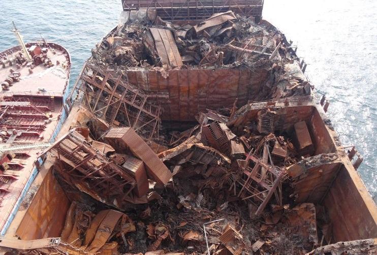 Embarcaciones van a depósitos de chatarras ante Covid-19