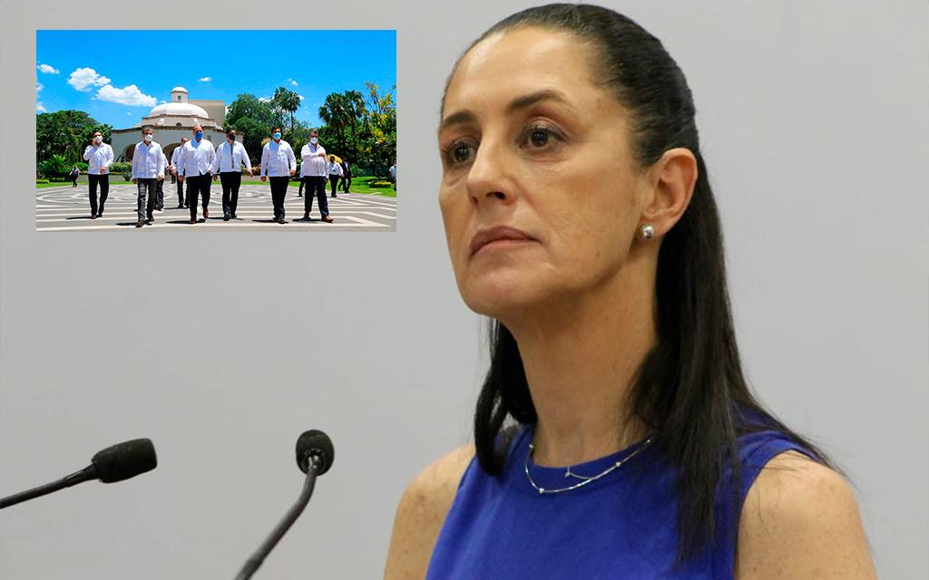 Gobernadores que salieron de CONAGO deben erradicar la corrupción: Sheinbaum
