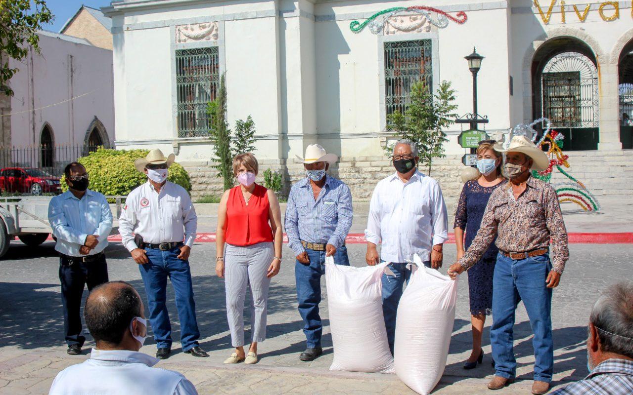 Arrancan programa de semilla subsidiada en Cuatro Ciénegas