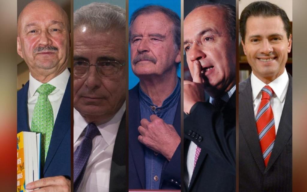 Morena ofrece Ley de Amnistía para Salinas, Calderón, Peña, Fox y Zedillo; será consulta ciudadana