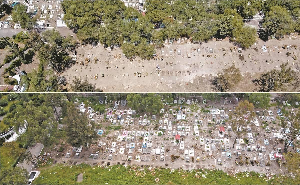 En 3 meses el COVID-19 llenó los panteones de Iztapalapa