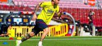 """""""Ya volvió"""": Messi entrena en la Ciudad Deportiva del Barcelona"""