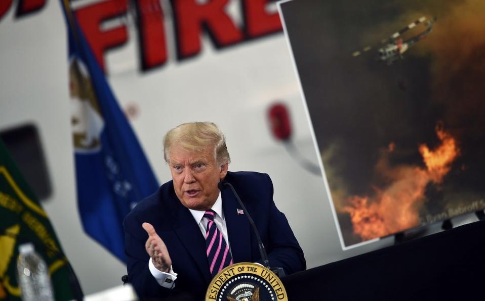 """La crisis climática se retornará y """"el clima comenzará a enfriarse"""", asegura Trump"""