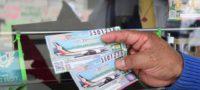 Menos del 70% de los 'cachitos' para la rifa del avión presidencial se han vendido: Lotería Nacional
