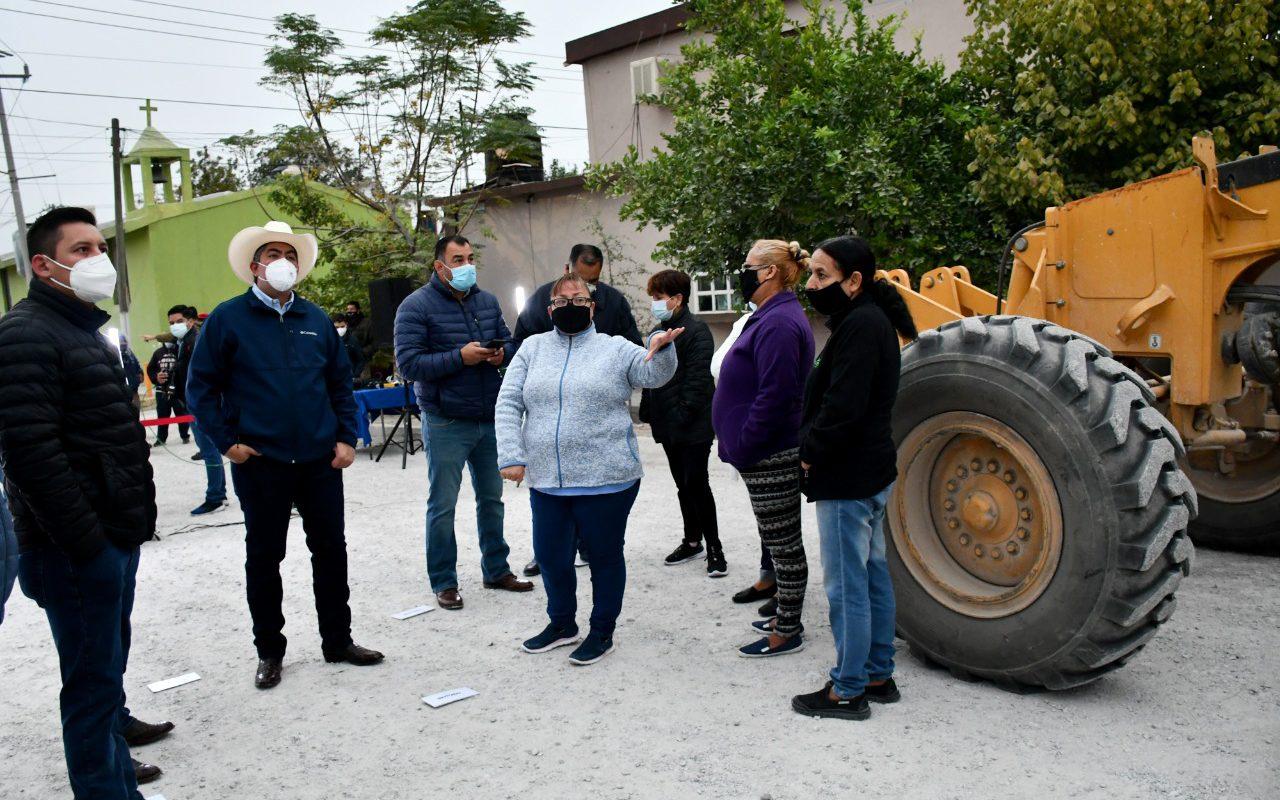 Arrancan obra de pavimentación en la hipódromo