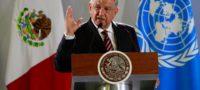 """AMLO dispuesto a que la ONU investigue a autoridades mexicanas, """"estoy de acuerdo con que nos vigilen"""""""