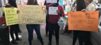 Feministas toman las instalaciones de Morena, por presunto acoso y abuso sexual
