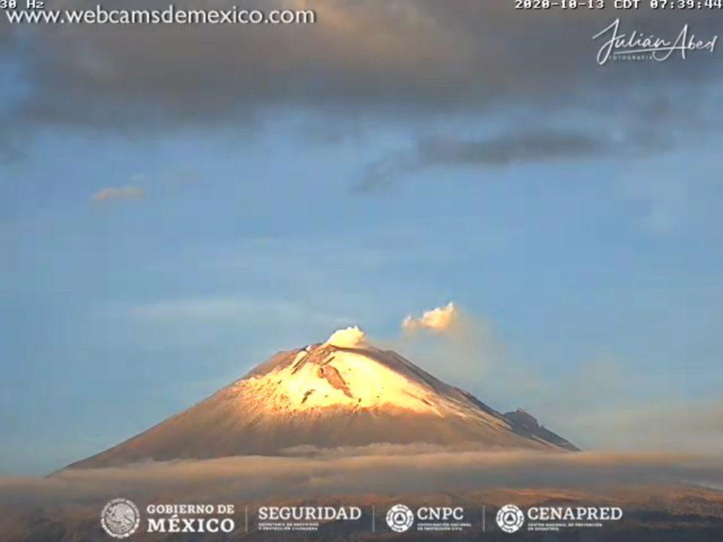 Volcán Popocatépetl: Tras intensa actividad reportan caída de ceniza en EdoMex y Puebla