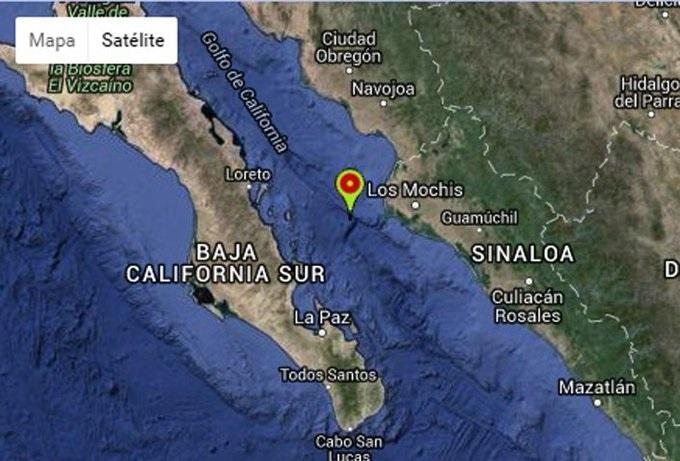 Sismo de 4.7 de magnitud en Huatabampo, Sonora y Ahome, Sinaloa: SSN