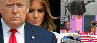 Tras dar positivo Trump y su esposa explotan redes sociales con escalofriantes mensajes