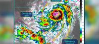 Tormenta tropical Zeta pisará tierra como huracán en la Península de Yucatán