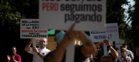 Autoridades de Madrid rechazan el confinamiento para reducir los contagios de COVID-19