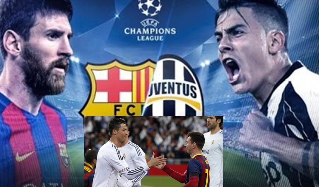 Messi Vs Cristiano El Encuentro Entre Barca Y Juventus Sera En Grupo G De Europa En La Champions League Nrt Mexico