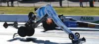 Piloto se salva de milagro; sufre accidente a más de 400 kilómetro por hora y sale ilesa