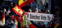 España estalla en protestas tras decisión de imponer estado de alarma