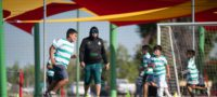 Santos impartió clínicas guerreras en Nadadores