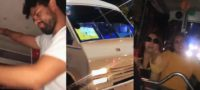 Influencer arma fiesta 'exótica' dentro de un microbús de la CDMX; internautas lo tunden