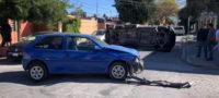 Descuido al volante ocasiona accidente en la colonia Ampliación Morelos