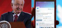 """En Twitter existe manipulación de """"bots"""", está dirigido a clase media y alta; Facebook es más abierta y popular: AMLO"""
