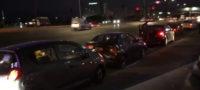 Choque de tres vehículos deja sólo daños