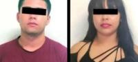 Policías detienen a pareja que discutía por celos; descubren que transportaban droga