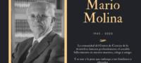 Lamenta UNAM fallecimiento del Doctor Mario Molina, Premio Nobel de Química 1995