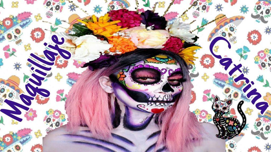 Festeja TikTok con desafío de maquillaje para celebrar Día de Muertos