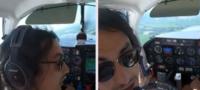 Piloto realiza aterrizaje de emergencia por un imprevisto en pleno vuelo